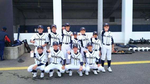 【優勝しました!】第4回 日本少年野球茨城県支部 1年生交流戦